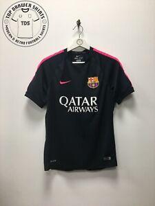Barcelona Training Football Shirt 2014/2015 Men's Small