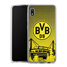 Samsung Galaxy A10 Silikon Hülle Case Handyhülle  - BVB Dots