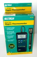 Extech 40744 Hygro Thermometer Humidity Meter Withprobe Temperature Tool New