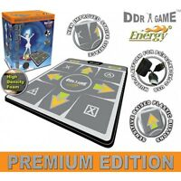 Dance Revolution - DDR Foam Deluxe Dance Pad 4 in 1 for PS/PS2, Xbox and PC