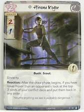 Legend of the five rings LCG - 1x #042 Hiruma kogoe-the fires within