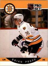 1990-91 PRO SET HOCKEY BRIAN PROPP CARD #14 BOSTON BRUINS NMT/MT-MINT