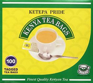 Ketepa Kenya Tea - Ketapa Pride Tea Bags - 100ct KTDA