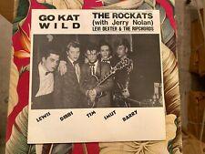 LEVI DEXTER & THE RIPCHORDS / THE ROCKATS GO KAT WILD ROCKABILLY LP