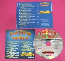 CD Compilation UNA CITTA'PER CANTARE 1997 Emozioni musica RON DALLA no lp mc(C43