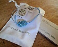 ATELIER SWAROVSKI United Nations AQUA Crystal Bracelet BNWT rrp £69.00 Rare