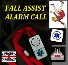 CARER ALARM CALL ! ~ MAINS (cordless) NO BATTERIES REQUIRED*  250m range !