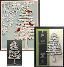 Grand Pine Tree metal die Poppystamps cutting dies 1548 Trees,evergreen,branches