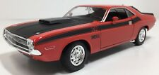 WELLY 1970 DODGE CHALLENGER T/A ORANGE 1:24 SCALE DIE CAST!  FREE SHIPPING