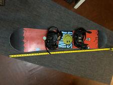 New listing Rome Mini Shred Snowboard 2021 125cm with K2 charm bindings Burton Bag