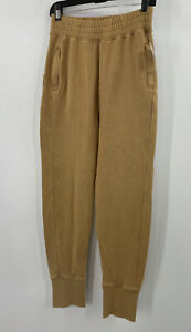 Free People June Bug Jogger Size XS Mid Rise Harem Style Joggers Beige