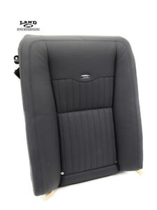 MERCEDES W221 S-CLASS PASSENGER/RIGHT REAR SEAT CUSHION VENTED DYNAMIC BLACK