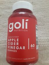 Goli Nutrition Apple Cider Vinegar 60 Gummies Vitamins