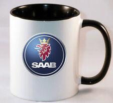 SAAB CAR LOGO MUG COFFEE TEA CUP GIFT PRESENT