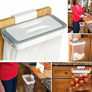 Kitchen Waste Bag Hanging Holder Trash Carrier Cupboard Bin Bags Hanger NEW