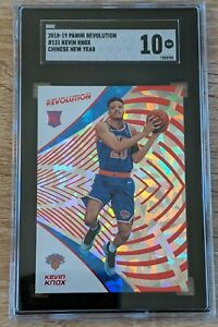 2018 Panini Revolution Chinese New Year #131 Kevin Knox Rookie SGC 10