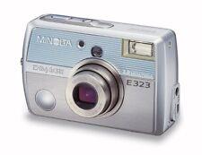 Minolta Dimage E323 3.2MP Digital Camera with 3x Optical Zoom