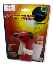 Pocket Torch DIY Electrical Auto Jewelry Plastic Melting Culinary Butane Gas NEW