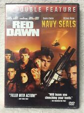 Red Dawn - Navy Seals DVD Double Feature Charlie Sheen Patrick Swayze OOP Title!