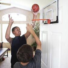 Mini Basketball Hoop System w/Ball Home Office Wall Basketball Net Goal Door Use
