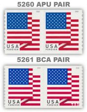 5260 APU and 5261 BCA Flag USA Forever Stamps Set of 2 Pairs 2018 MNH - Buy Now