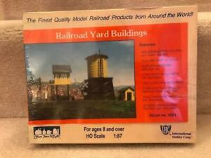 IHC HO Scale Railroad Yard Buildings Kit No. 3501 Sealed NOS