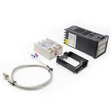 PID Temperature Controller +max.40A SSR +K Thermocouple Probe Cable Sensor