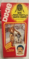 1982 STAR WARS Saga Dixie Cups New Sealed Box R2D2 C3PO Lando Cover Assorted