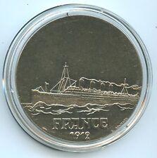Les Géants des Mers Médaille Paquebot France 1912