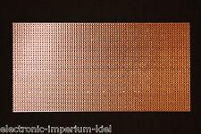 Lochrasterplatine, Streifenraster / Lötstreifen, RM 2,54mm, 200 x 100mm