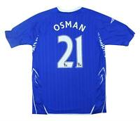 Everton 2007-08 Authentic Home Shirt Osman #21 (Excellent) M Soccer Jersey