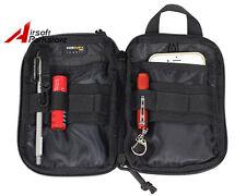 Tactical Cordura Molle Utility EDC Pouch Multi-purpose Waist Belt Pack Bag Black