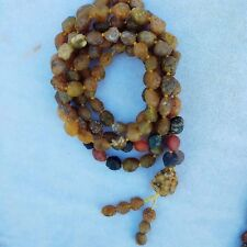 La shan gobi Natural agate rough stone irregular beads Long necklace