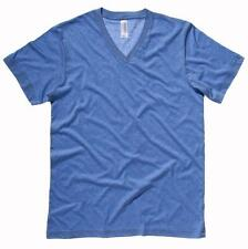 Polyester V Neck Short Sleeve Casual Shirts & Tops for Men