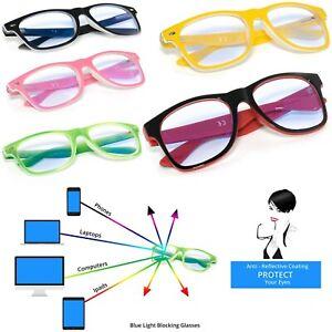 Women Men Reading Glasses +0.5 +1.5 +2.0 +3.0 Anti Glare Computer Gaming TV