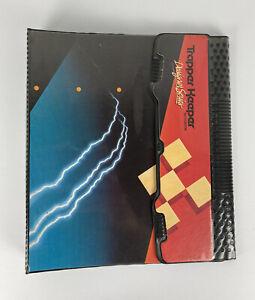 Mead Trapper Keeper Notebook Designer Series 3 Ring Binder 1988 Lightning 29100