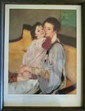 Mary Stevenson Cassatt / Maternelle / 1902 Oil On Canvas Wall Art Print Poster