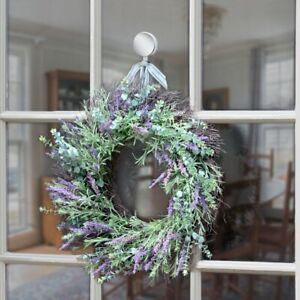 Haute Decor Attract Magnetic Wreath Hanger Silver Set of 2
