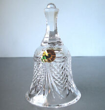 Waterford Crystal Annual PAX Ringing Bell of Peace #160073 New Boxed!