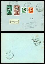VENEZIA GIULIA - 1945/47 - Francobolli del 1929-47 sovrastampati su due righe