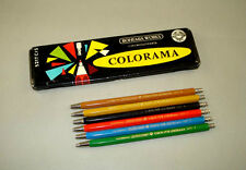 Set of 6 Vintage Old Mechanical Pencils TOISON D'OR COLORAMA BOHEMIA WORKS 5217
