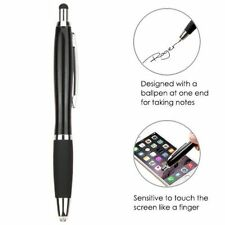 MYBAT Stylus Pen-80 With ball-point pen and flashlight, Black