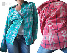 Karierte locker sitzende Damenblusen, - tops & -shirts keine Mehrstückpackung