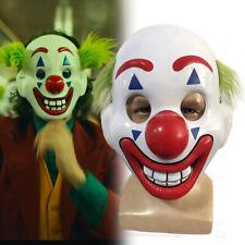 2019 Movie Joker Arthur Fleck Cosplay Masks Clown PVC Full Face Props Halloween