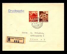 Liechtenstein 1938 Cover to Austria - L11156
