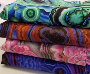 Kaffe Fassett Collective Agate 4 colours  Cotton Craft Quilting Clothes Fabric