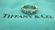TIFFANY & CO. BUBBLES PLATINUM WEDDING DIAMOND BAND RING .96CT SIZE 6.75 PAPERS!
