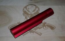 RED BLEM (no image) anodized buffer. mil-spec