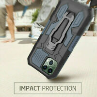Shockproof Hybrid Armor Case with Belt Clip For iPhone 12 11 Pro Max Mini Cover