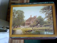 Country House Portrait-Framed A4 Size